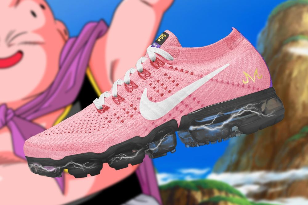 Checkout These Ultimate 'Dragon Ball Super' x Nike Air VaporMax Collaboration [SneakPeak] dragon ball super nike air vapormax renders 2