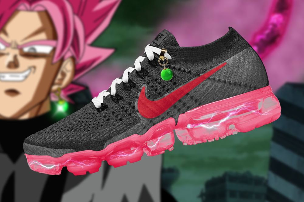 Checkout These Ultimate 'Dragon Ball Super' x Nike Air VaporMax Collaboration [SneakPeak] dragon ball super nike air vapormax renders 7