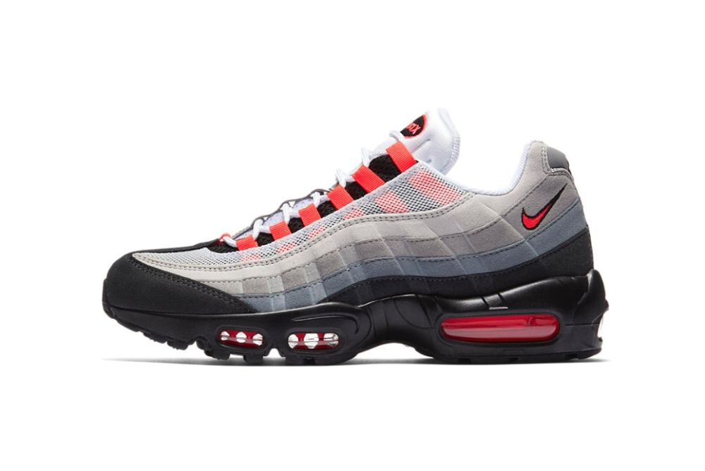"Nike Air Max 95 ""Solar Red"" Dropping Tomorrow [SneakPeak] nike air max 95 solar red 1"