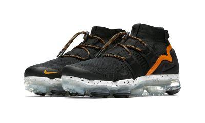 Nike Air VaporMax Utility 'Orange Peel' [SneakPeak] nike air vapormax utility orange peel release date 003