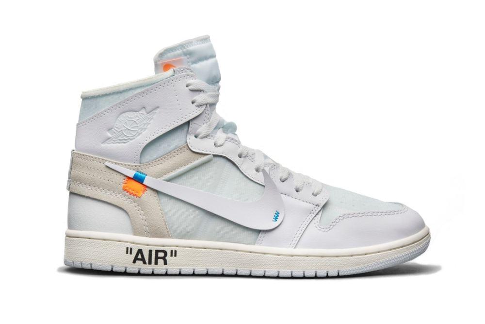 Virgil Abloh x Air Jordan 1s 'White' Now Have a Drop Date [SneakPeak] off white jordan february release 11 1