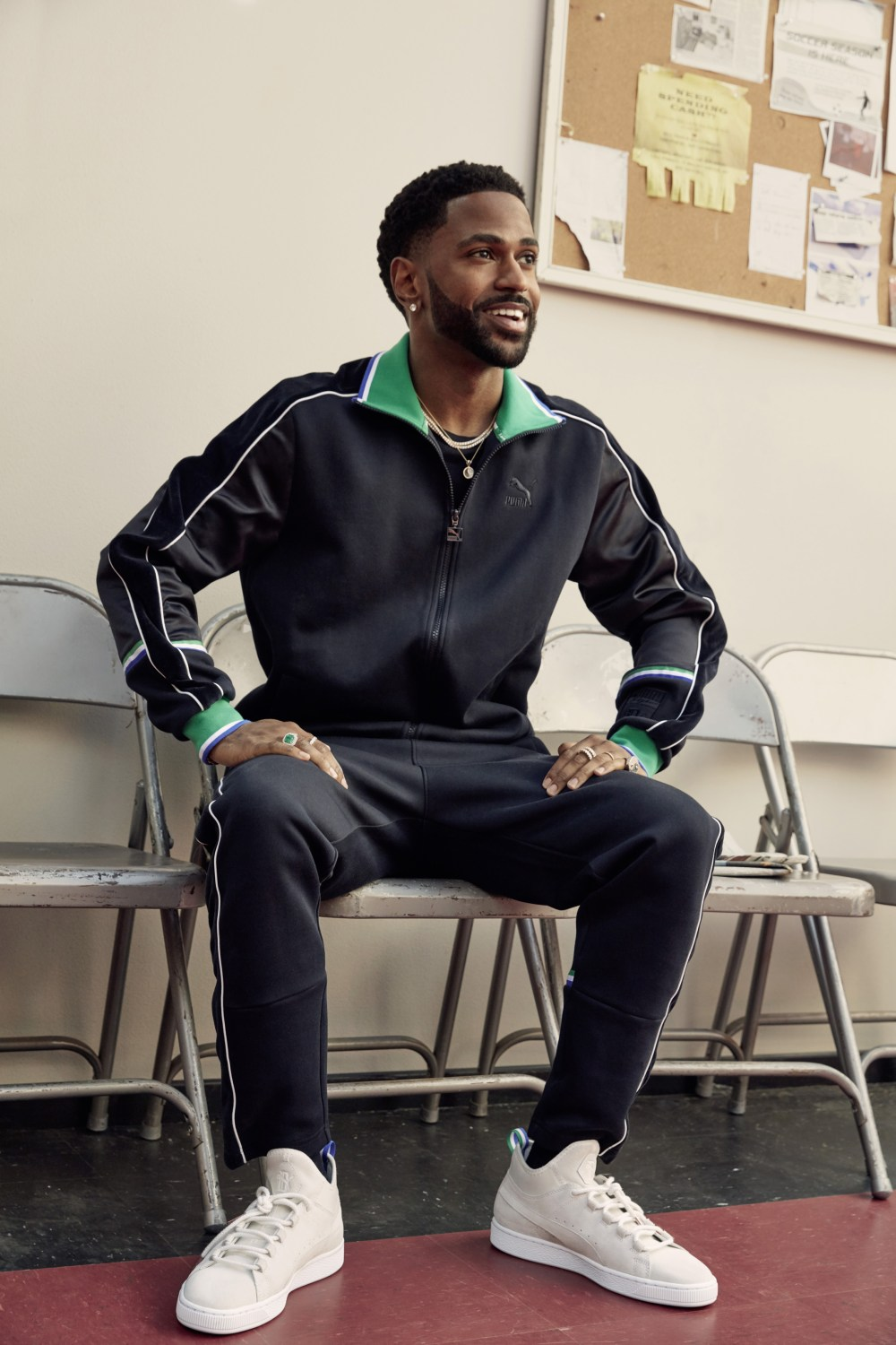 Luxury meets classic, Detroit style for Big Sean Suede 50 Drop PUMA Big Sean Suede 50 01