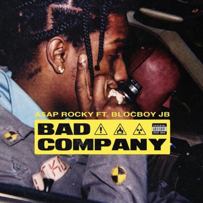 Listen To A$AP Rocky's 'Bad Company' Joint Ft. Blocboy JB asap rocky bad company 1