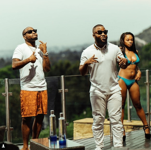 Watch Cassper Nyovest's x Davido's New #CheckOnYou Video c