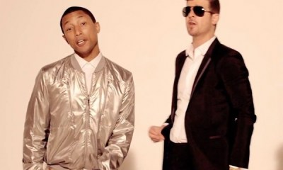 Pharrell & Robin Thicke Have Lost Their 'Blurred Lines' Lawsuit Appeal robine thicke pharrell 600x450