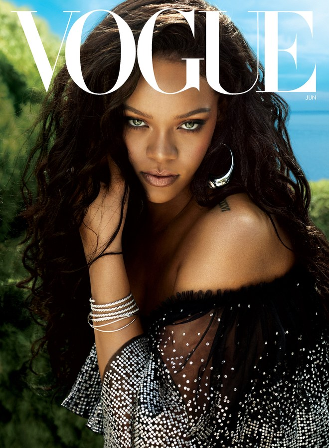 Rihanna Says Her & Drake Don't Have A Friendship Now 07 rihanna vogue june 2018 cover