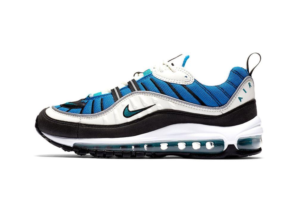 nike air max 98 Nike Air Max 98 'Blue Nebula' nike air max 98 blue nebula release date 1