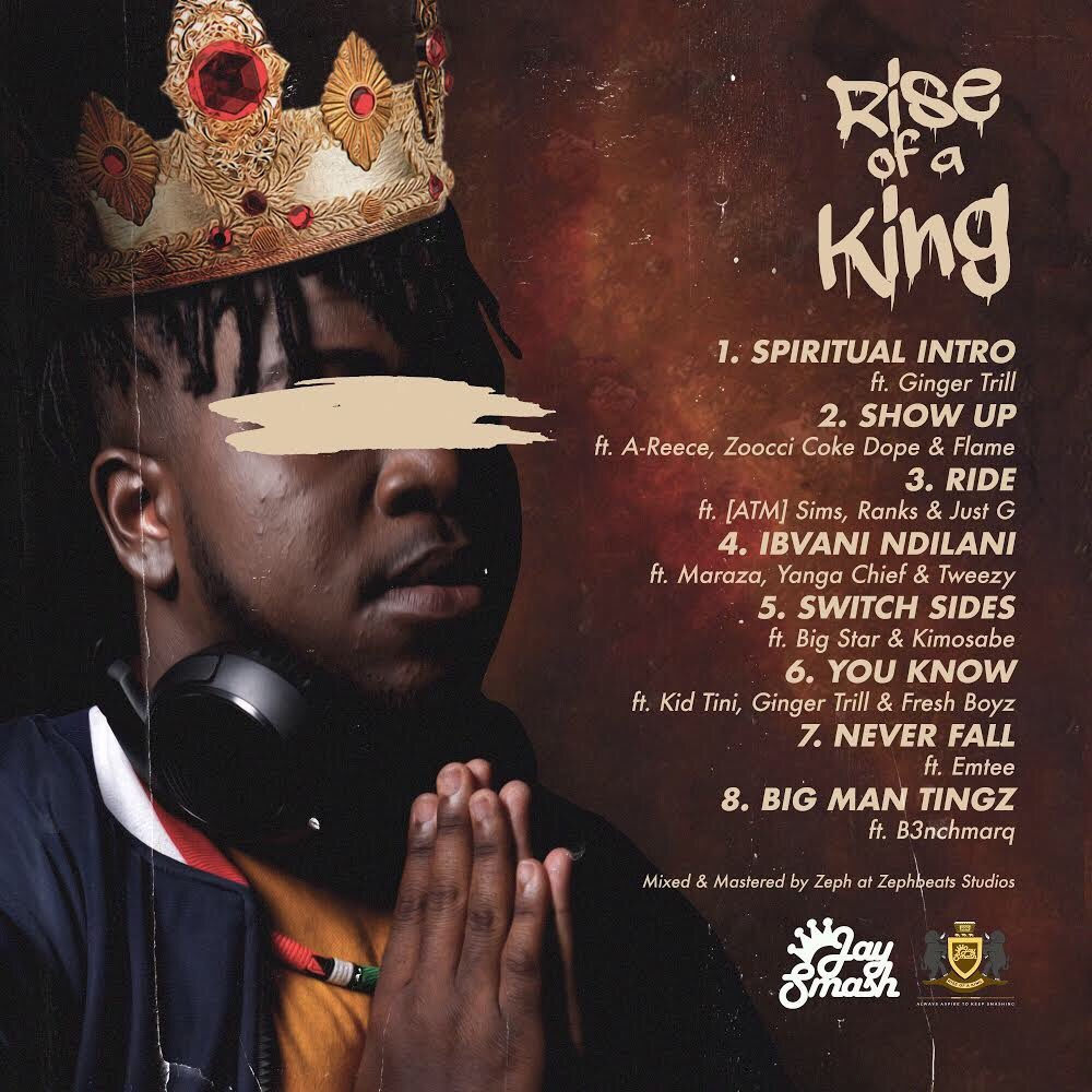 j-smash J-Smash Drops New 'Rise Of A King' EP [Listen] Dh8AhUVXUAAfzMR