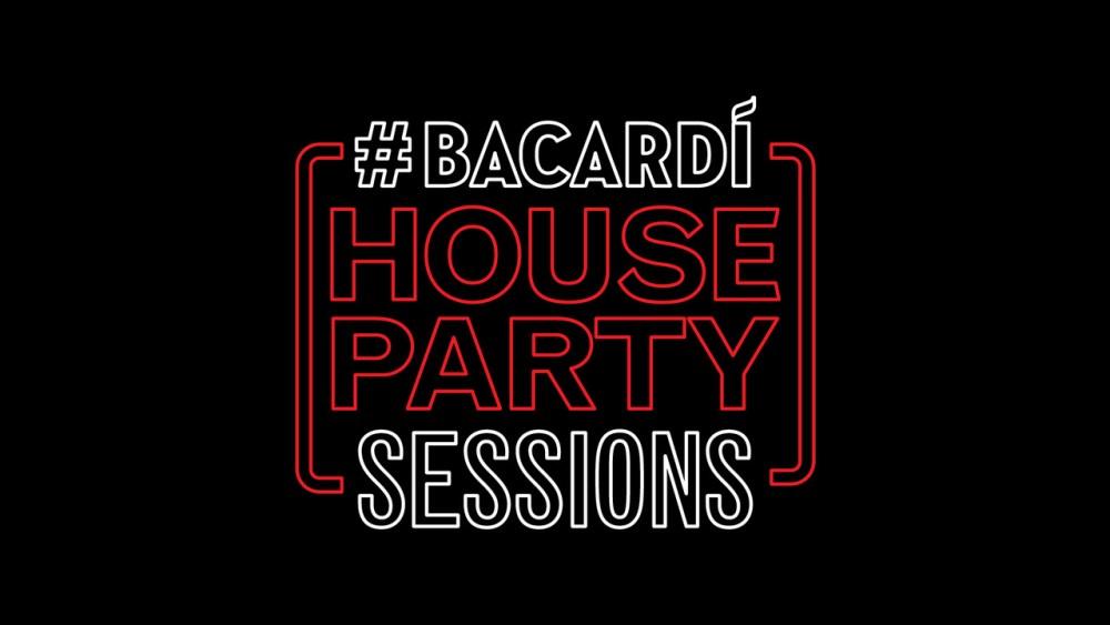 #BacardiHousePartySessions Is Back Bacardi Logo banner 01