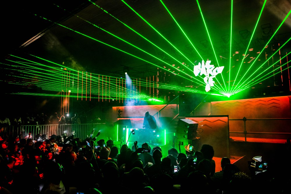 black coffee Hunter's Hosted An Unforgettable Party With Black Coffee! Black Coffee 2