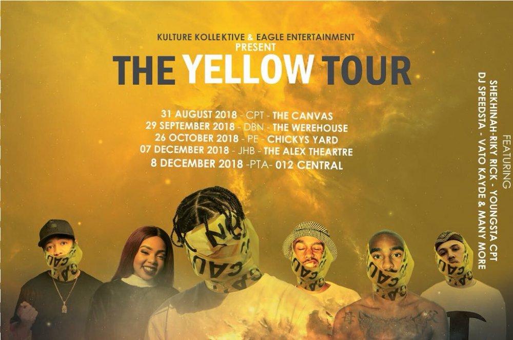 #theyellowtour #TheYellowTour Line-Up DkojJi0XgAAwOBv
