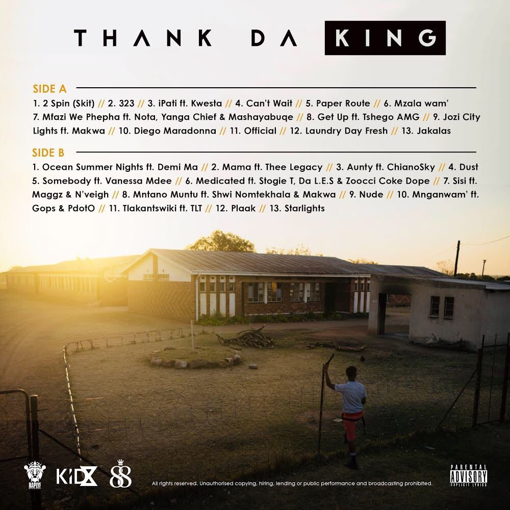 Listen To Kid X's New 'Thank Da King' Album DnjnJpAX4AEm9SN