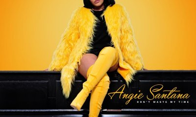 New Angie Santana 'Don't Waste My Time' Single Dropping Friday DnsKzVHX4AERs2k