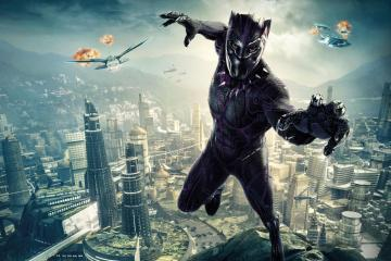 'Black Panther' Is Now Marvel's First Oscar-Winning Film black panther t challa wallpaper 1024x768 11760 18