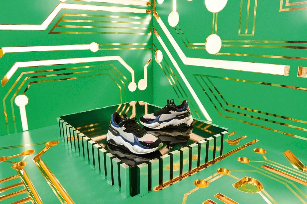 puma PUMA Drops Two Tech-Inspired Sneakers, Collaborates With Motorola PUMA RS X Motorola 02 lo