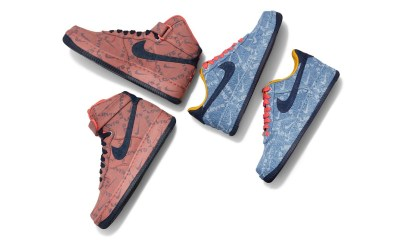 New Levi's x Nike Rejoin Customizable Denim Sneakers https   hypebeast