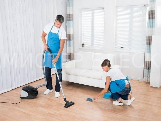 заказать уборку дома