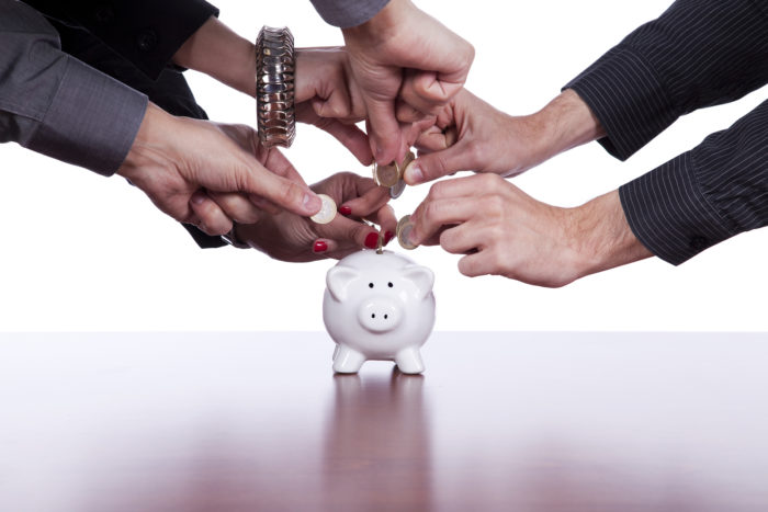 Group Feeding Piggy Bank