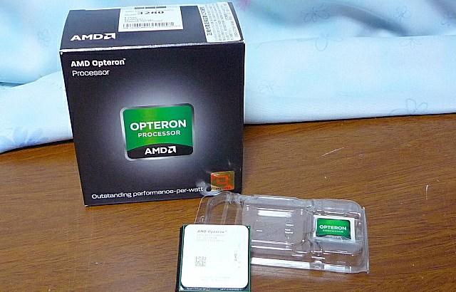 富士通 PRIMERGY MX130 S2 に 8コア Opteron 3280 を載せる
