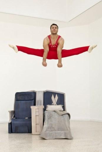 """Body In Flight"" (2011), with David Durante (via blog.gkelite.com)"