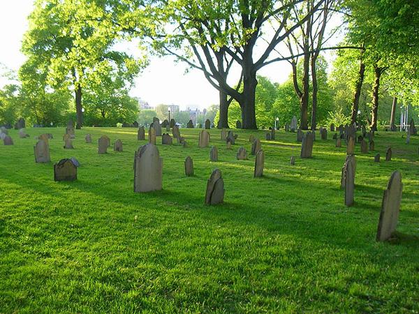 Boston Commons Cemetery (via Wikipedia)