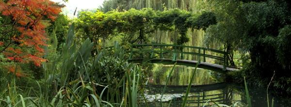 """Elizabeth Murray, """"Autumn beside Monet's bridge"""""""