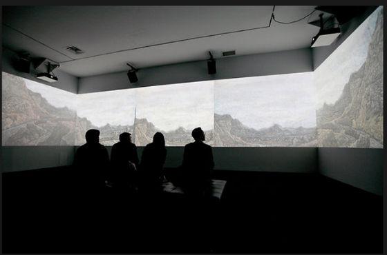 "Werner Herzog, ""Hearsay of the Soul"" installation"