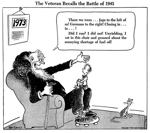 Dr Seuss S Political Cartoons