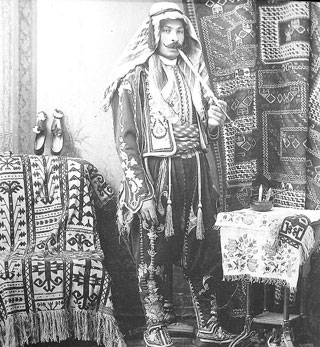 Either Guleserian and Altoonjian, one of the founders of the Persian Bazaar