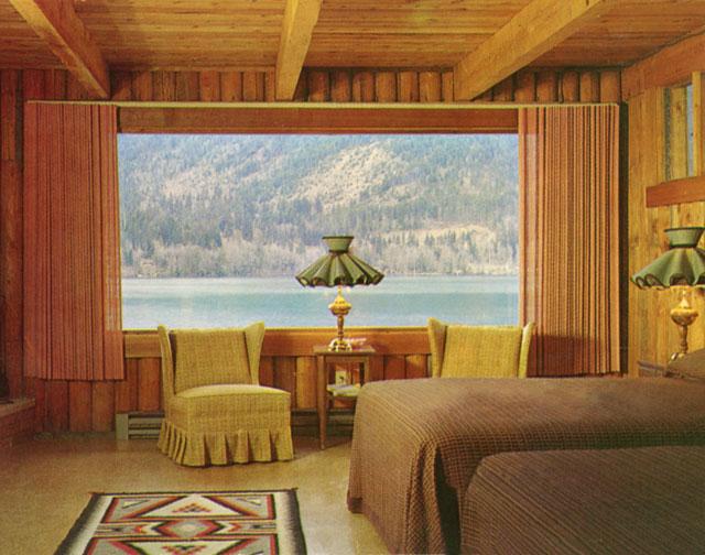 "Doug Rickard, ""Mallard Cove Resort, Lake Sutherland, Port Angeles, Washington, August 27, 1973"""
