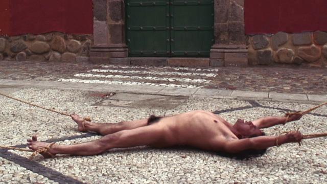 "Claudia Joskowicz, ""Drawn and Quartered"" (2007), video still"