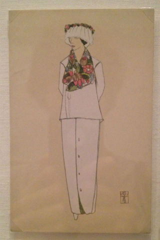 Fashion postcard from Eduard Josef Wimmer-Wisgrill