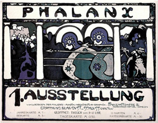 A 1901 Wassily Kandinsky poster from the collection (image via Commission for Art Recovery)