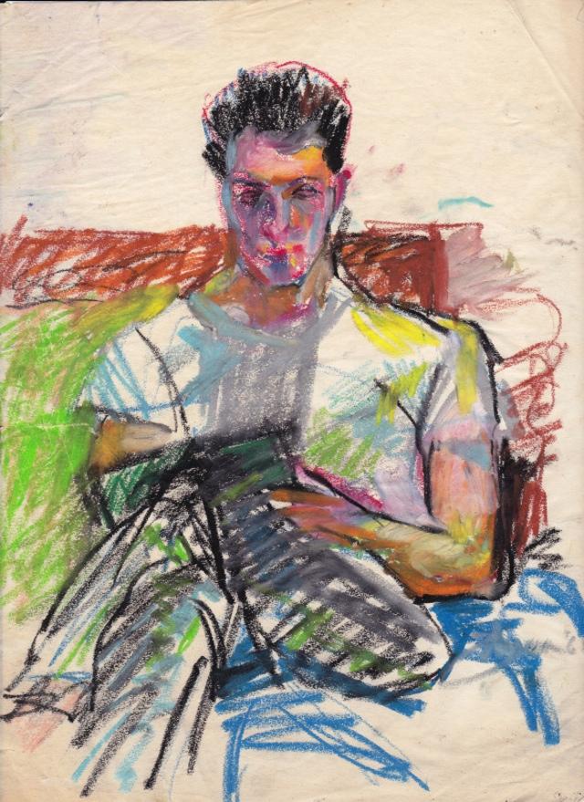 """Eddie Johnson, """"Portrait of Robert Corless."""""""