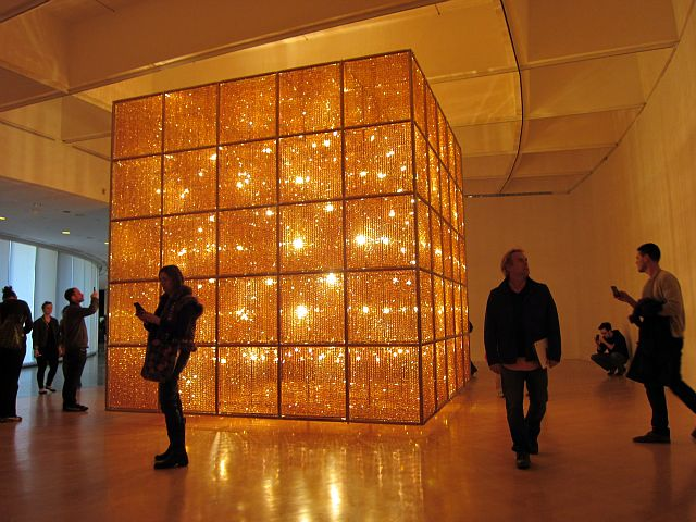 Image result for ai weiwei cube light