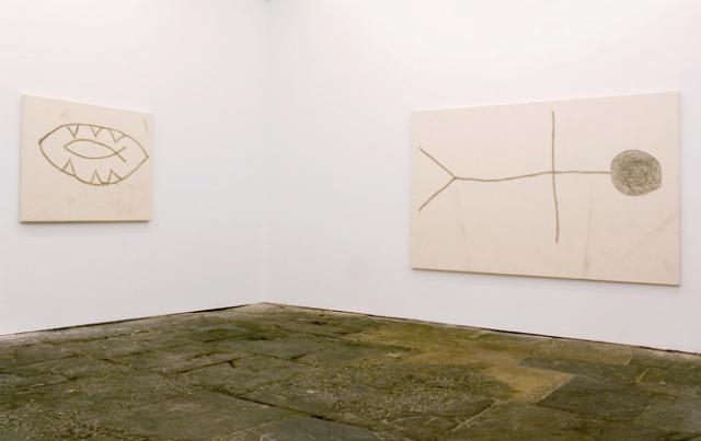 Joe Bradley : Schmagoo Paintings, Installation view, 2008