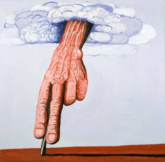 """Philip Guston's """"The Line"""" (1978) (Image via Independent.co.uk)"""