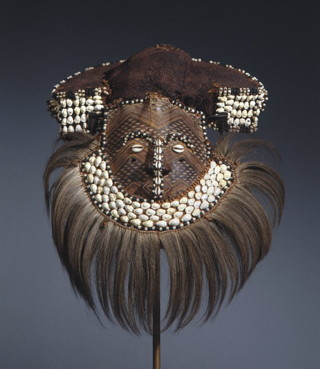 Art without an author: a Moshambwooy mask from the Kuba people of the Democratic Republic of the Congo. (Image via brooklynmuseum.org)