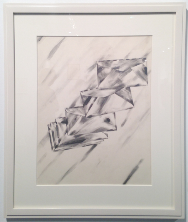Robert Moskowitz (b.1935) Untitled, 1962, Graphite and wash on paper, 20 x 15 ¾ in. Courtesy Elick Manley Fine Art & Amy Wolf Fine Art, New York, Booth 446.