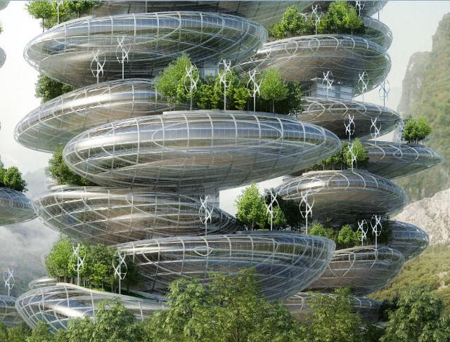 """Are """"farmscrapers"""" The Future Of Sustainable Architecture?"""