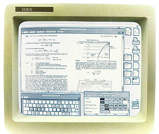 The Xerox Star Workstation, developed at PARC, introduced the first commercial GUI (image via Wikimedia)