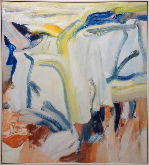"""Willem de Kooning, """"Untitled XIII"""" (1981), oil on canvas, 60 x 54 in, at Matthew Marks, New York"""