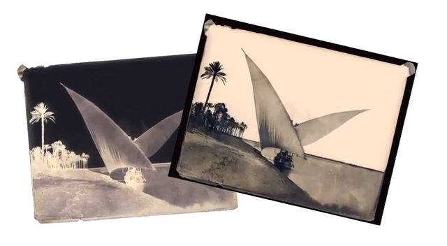 """Still from """"The Collodion Process"""" by the George Eastman House (screenshot via the George Eastman House on YouTube)"""