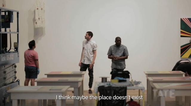 Still from TateShots: Museum of Contemporary African Art with Meschac Gaba (screenshot)