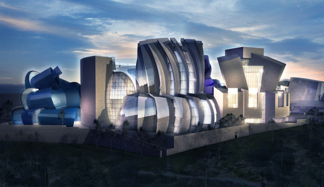 Gehry's design for the Museum of Tolerance (courtesy Simon Wiesenthal Center)