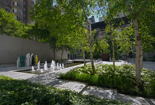 moma turns private garden