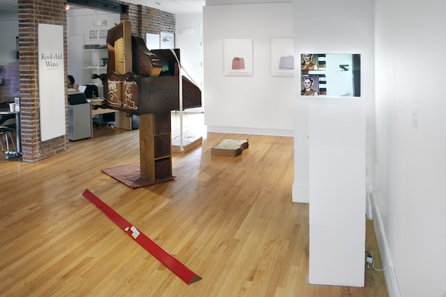 Gallery view, Kool-Aid Wino (all images courtesy Franklin Street Works)