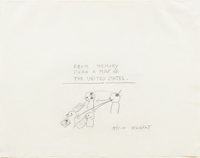 Famous Artists Asked to Draw a Map of the US from Memory