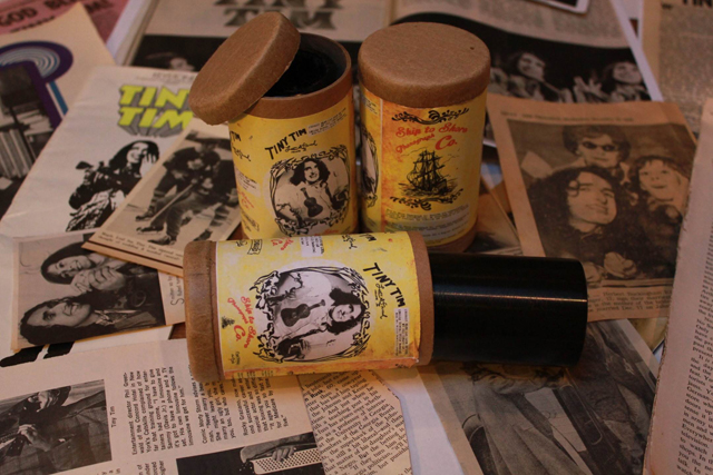 Tiny Tim wax cylinders (courtesy Justin Martell)