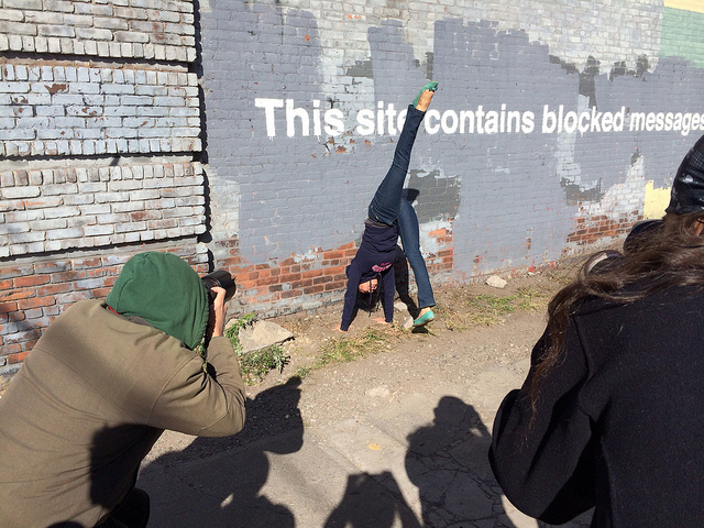 This site contains messages blocked by handstands.